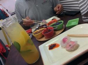 Lunch at Yum Yum Cha.