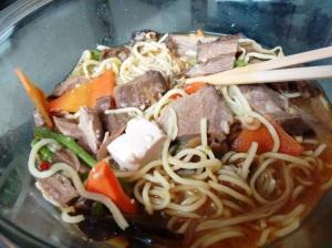 The pork ramen at Yum Yum Cha.