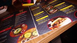 The Mamabuns menu at Mamagoto.