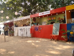 The Olive, Guppy by Ai and Soda Bottle Opener Wala stalls.
