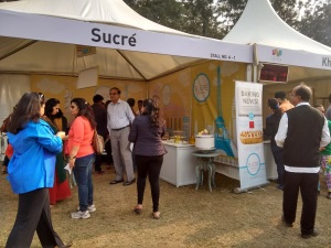 The Sucre stall at Palate Fest.