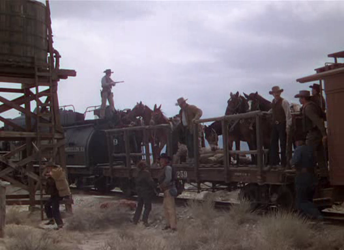 Sweet and his men arrive at Mojave Tanks