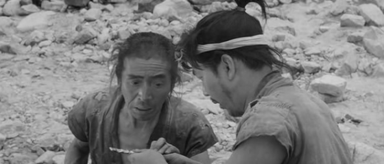 Matashichi and Tahei find some gold.