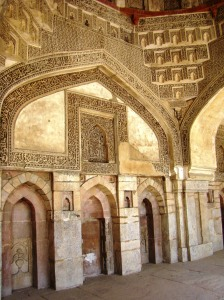 A view of the mosque's interior.