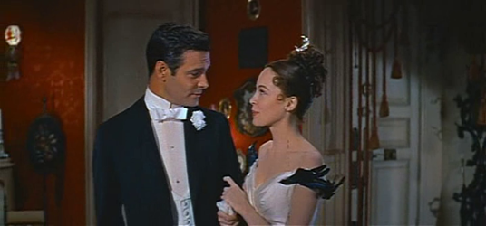 Louis Jourdan and Leslie Caron in Gigi