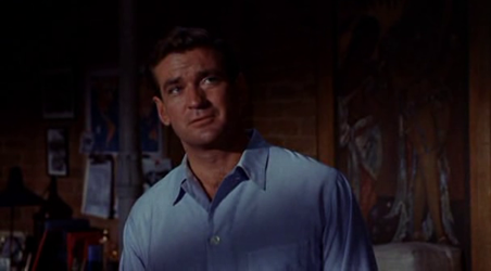 Rod Taylor as Mike Mitchell in Sunday in New York