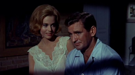 Rod Taylor with Jane Fonda in Sunday in New York