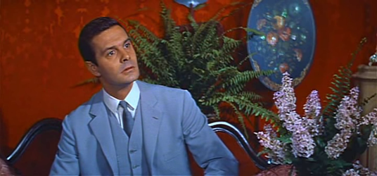 Louis Jourdan as Gaston Lachaille in Gigi