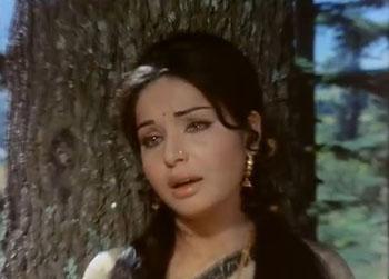 Megha chhaaye aadhi raat, from Sharmeelee