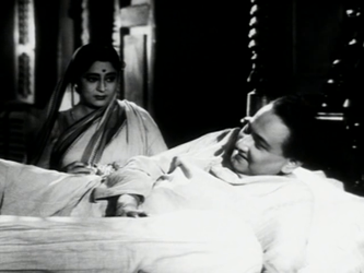 Bishwambar Roy and his wife