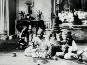 A performance in the jalsaghar