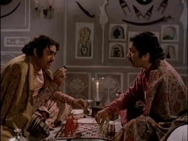 Sanjeev Kumar and Saeed Jaffrey in Shatranj ke Khiladi