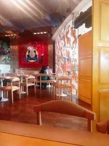 Inside Mamagoto.