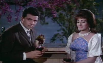 Zainab and Sunil at the party...