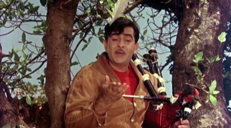 Mere mann ki Ganga, from Sangam