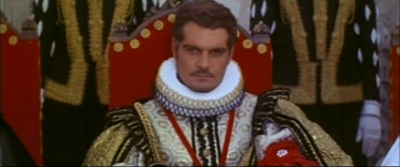 Omar Sharif as Prince Rodrigo in More Than a Miracle
