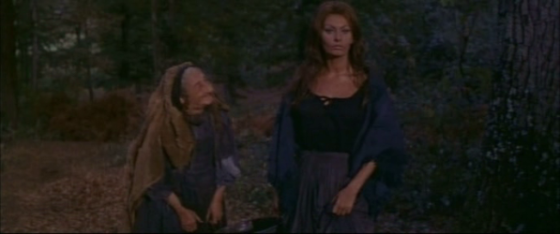 An old witch comes to Isabella's help