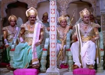The five Pandavas