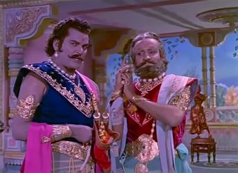 Duryodhan with Shakuni Mama
