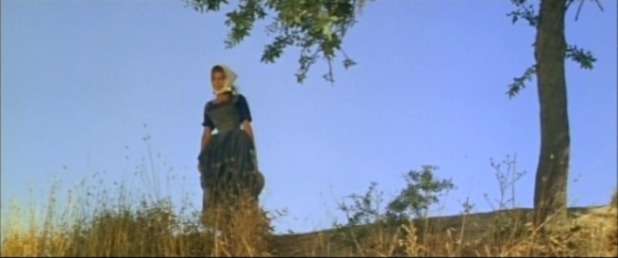 Isabella watches as Roddrigo rides away