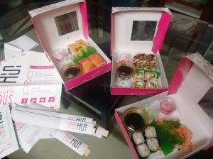 Sushi from Sushi Haus.