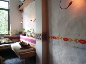 Inside La Bodega.