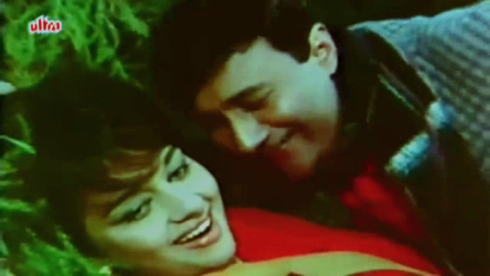Asha Parekh and Dev Anand in Mahal