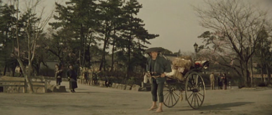 Toshiro Mifune in and as The Rickshaw Man