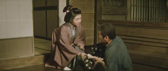 Mrs Yoshioko asks Matsu for help