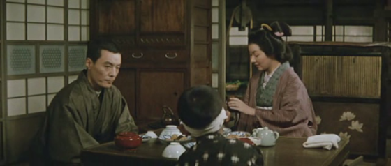 Captain Yoshioko at home