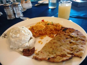 Breakfast at Neemrana: just a sample.