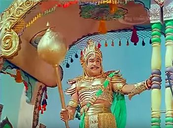 Sivaji Ganesan, in and as Karnan