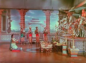 Karnan, worshopping Surya