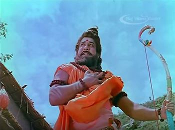 Karnan poses as a Brahmin