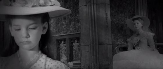 Pamela Franklin as Flora, in The Innocents