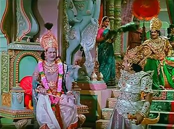 Karnan faces Krishna