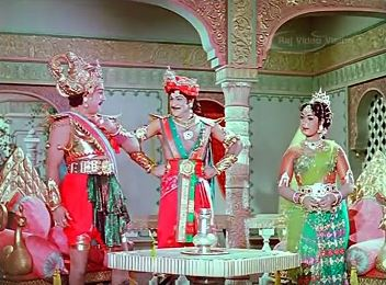 Karnan meets Duryodhan and Bhanumati