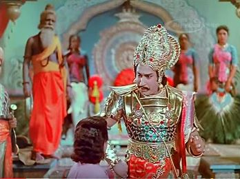 Karnan in his court
