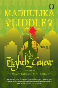 The Eighth Guest & Other Muzaffar Jang Mysteries, the revised cover.