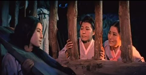 Chun-Hyang in prison.