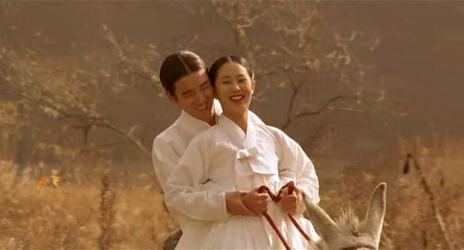 Lee Hyo-jeung and Cho Seung-woo as Chun-hyang and Mong-ryong
