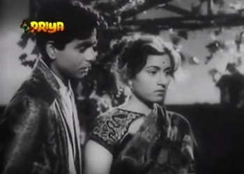 Dilip Kumar and Madhubala in Sangdil