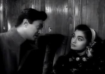 Asha Parekh and Dev Anand in Jab Pyaar Kisise Hota Hai