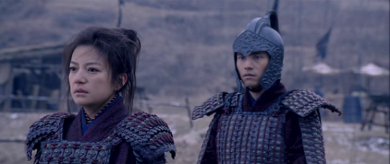 Wei Zhao and Chen Kun in Mulan: Rise of a Warrior
