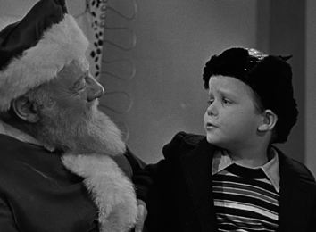 A little boy tells Santa what he wants for Christmas...