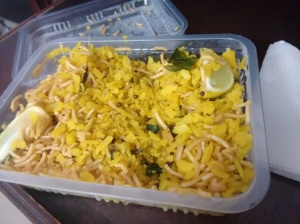 Chaayos's poha: pretty good!
