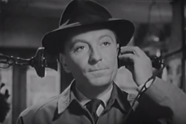 William Hartnell as Inspector Harris in Escape