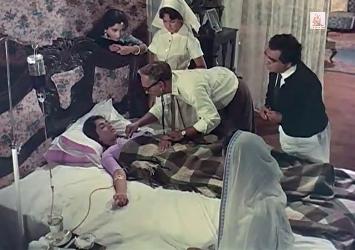 Geeta on her deathbed