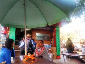 The Assam Food Stall at Dilli Haat.