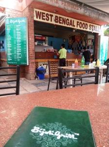 The Bijoli Grill stall.
